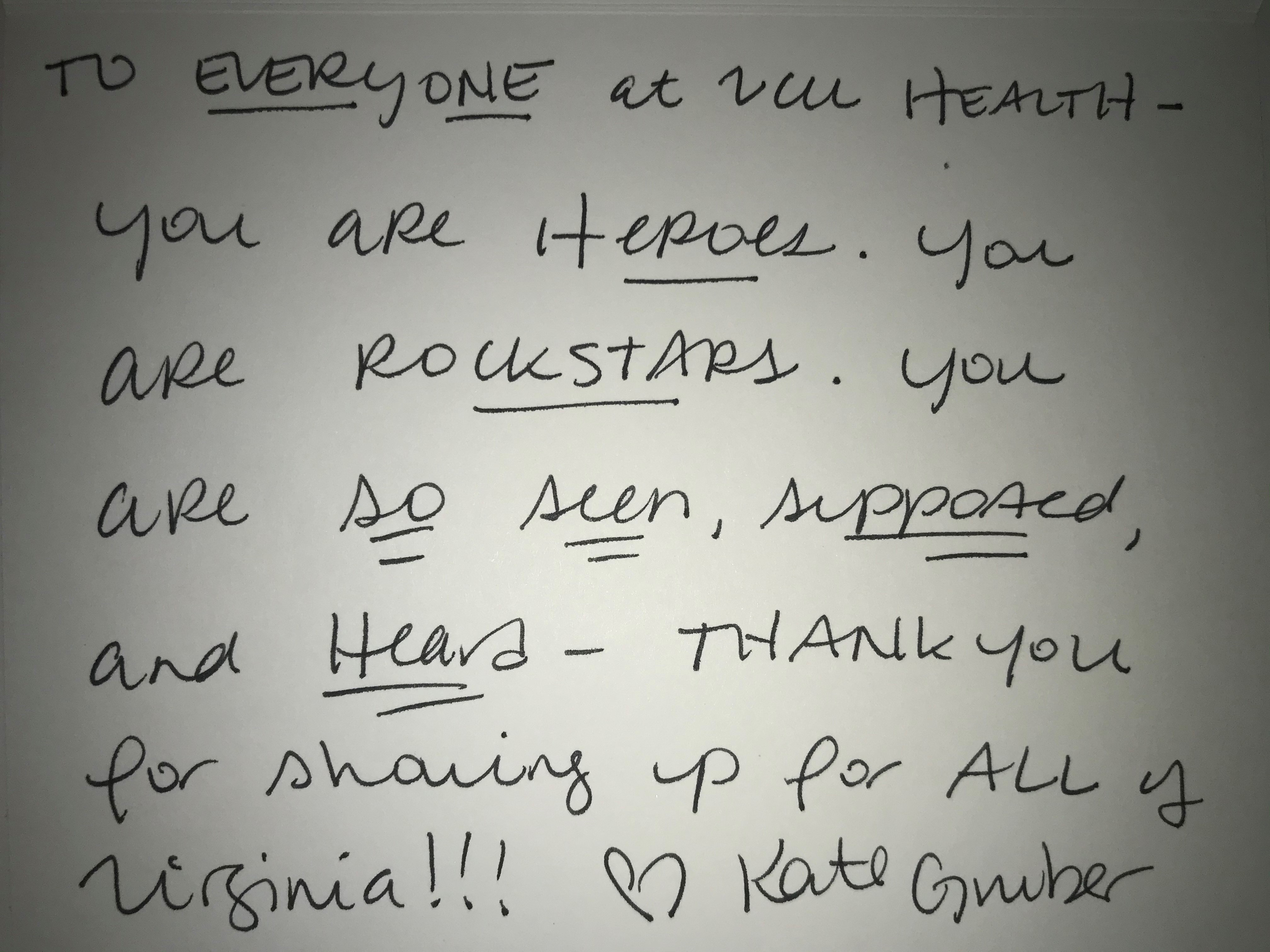 You are heroes. You are rockstars. You are seen, supported and heard. Thank you!