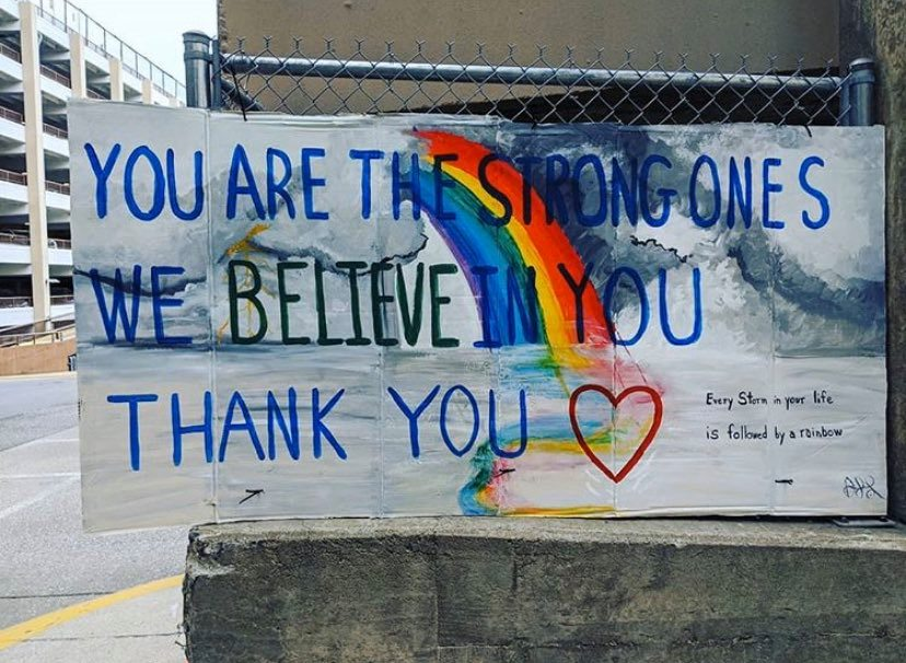 You are the strong ones. We believe in you. Thank you!
