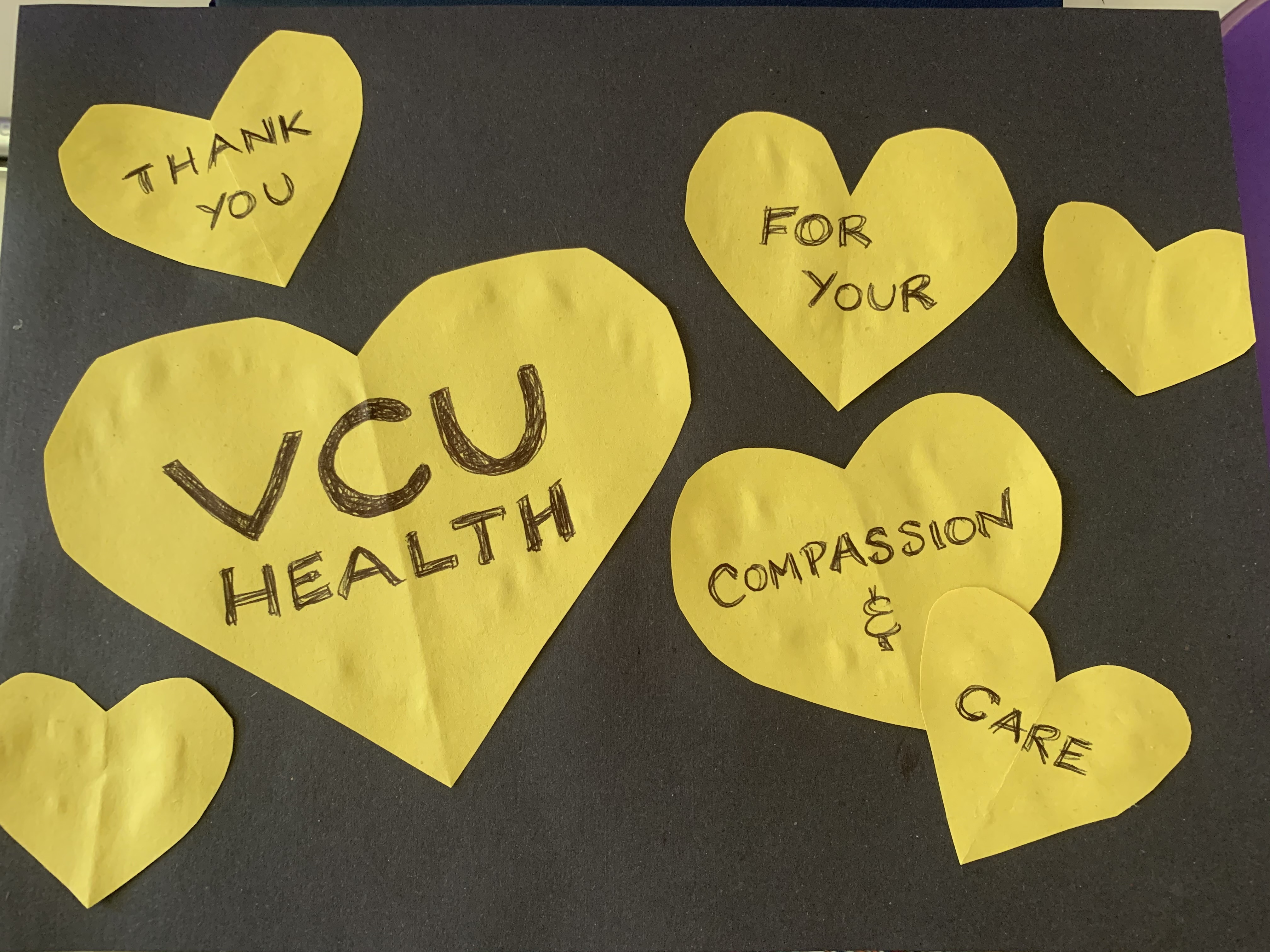 VCU librarians say thank you