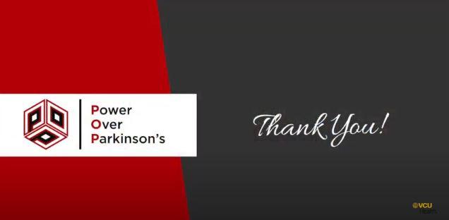 Power Over Parkinson's thanks VCU Health team members!