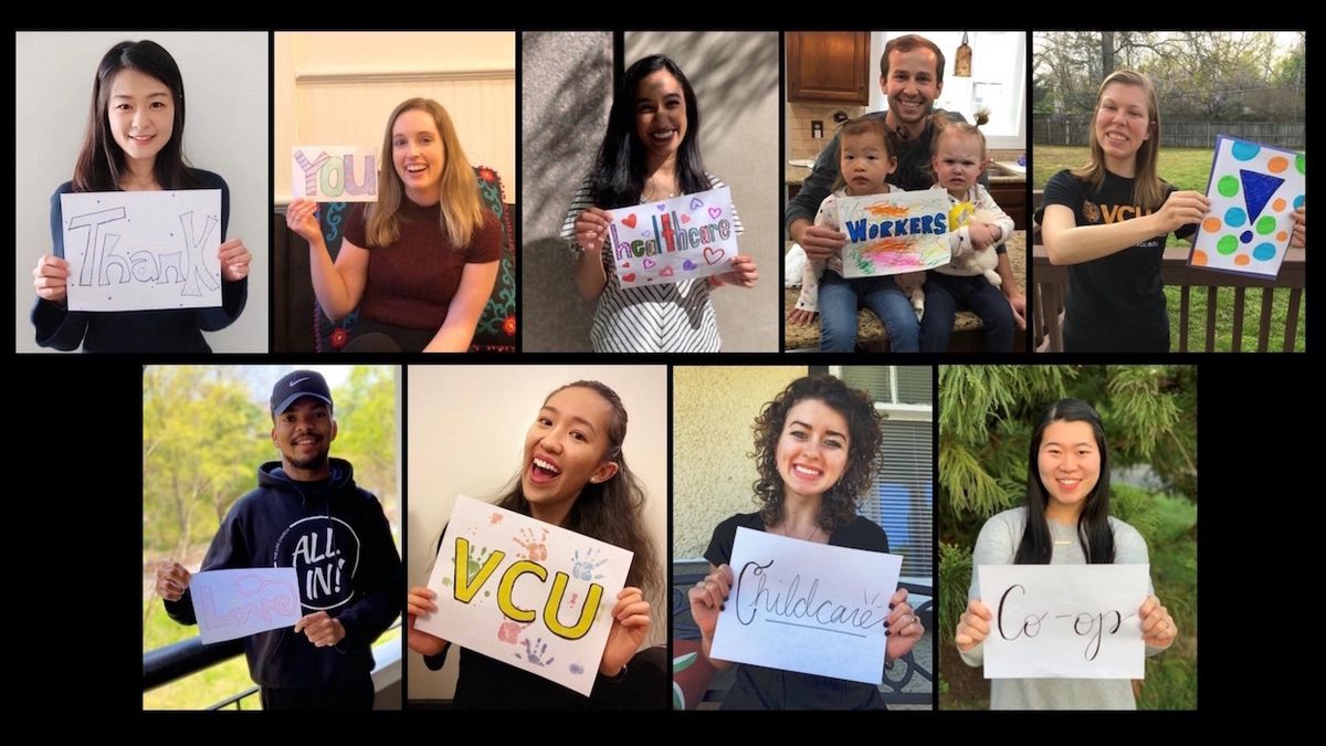 VCU Health Staff - Thank you, appreciate you, grateful for you! - Your efforts save lives every day!