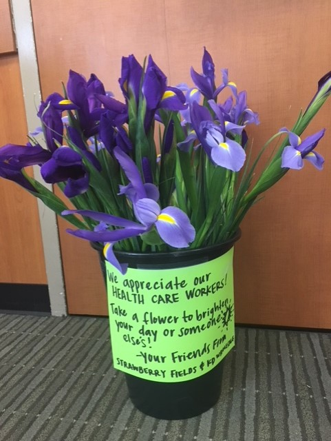 We appreciate our health care workers!